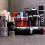Graffiti Spraydosen